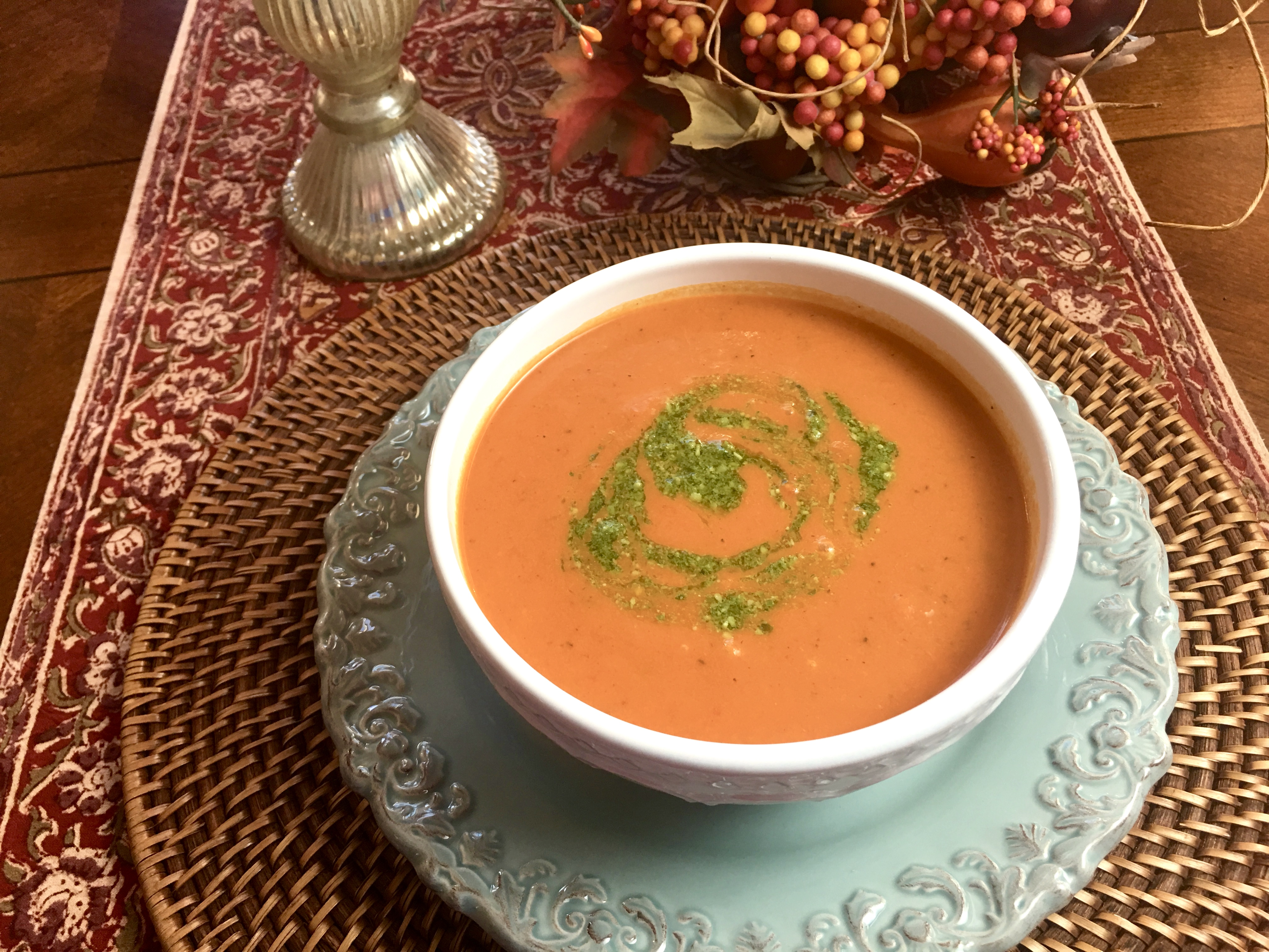 Quick (and incredibly good) Tomato Soup