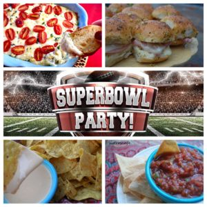 Super Bowl Party Food Ideas –Part 1 (Savory)