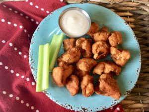 Cauliflower 'Hot Wings' (with Gluten Free Option)